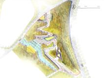 5套国际竞赛风格景观PSD彩色总平面图