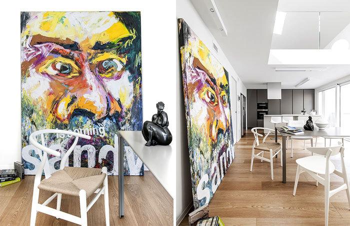 意大利:充满艺术感的极简住宅_3