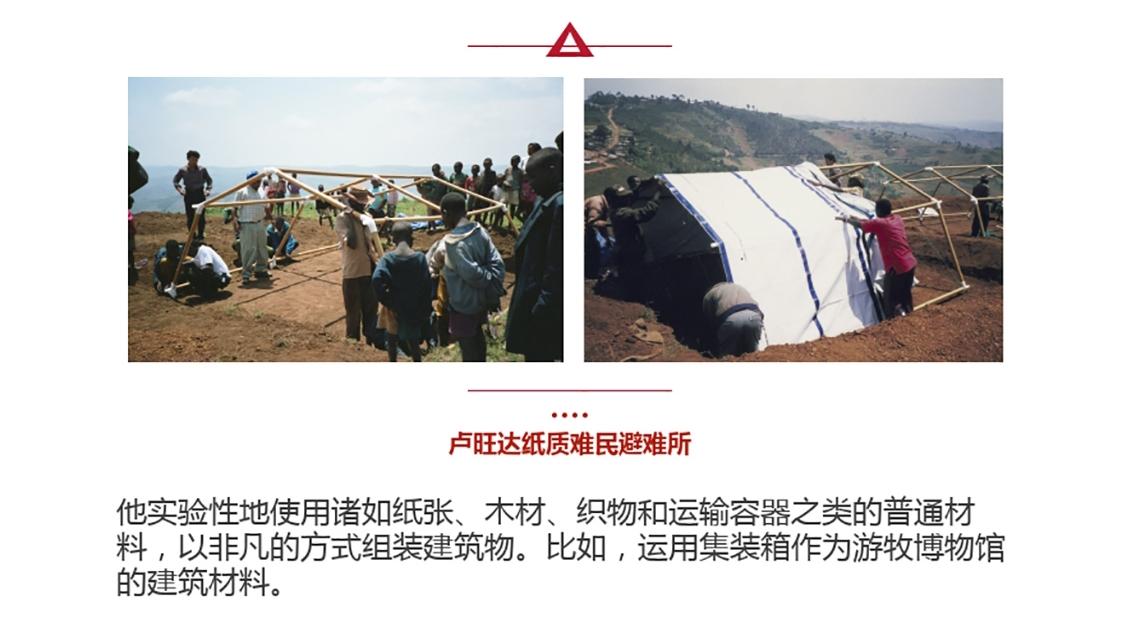 卢旺达纸质难民避难所