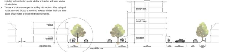 多伦多丹佛斯大街设计方案(英文)(PDF+88页)-立面图