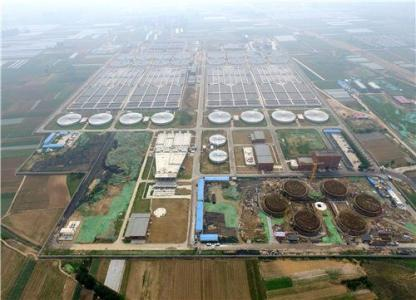 V型滤池装饰资料下载-[河南]郑州新区污水处理厂施工组织设计