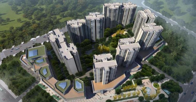 [四川]高层住宅楼及商住楼项目绿色施工汇报PPT(75页,附图丰富)