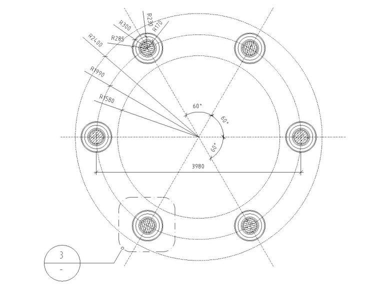 特色景观亭子设计详图——泛亚景观