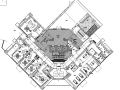 CCD华润城润府会所设计方案+效果图+CAD平面图