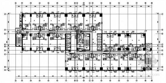深圳某商业大厦给排水全套施工图