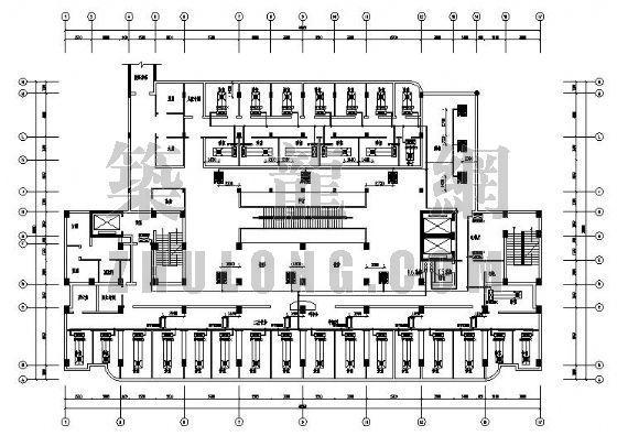 vrv空调施工平面图资料下载-温州某大学VRV空调平面图