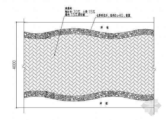 园路平面铺装图1