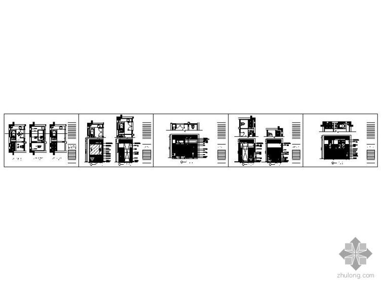 别墅卫生间装修施工图_3