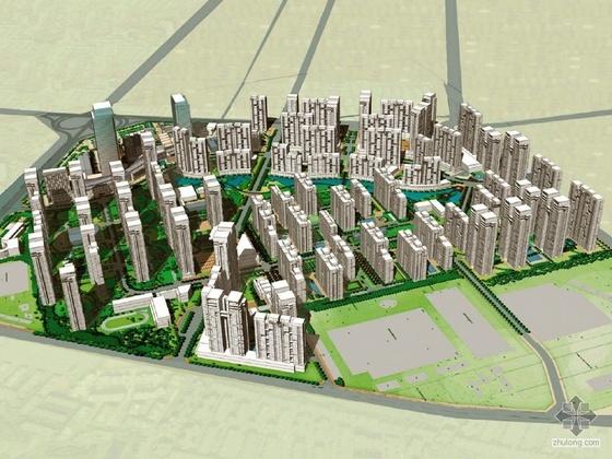 [成都]华润某城总体规划方案