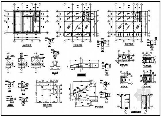 某2层私人住宅结构设计图