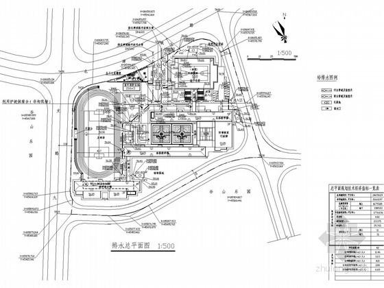 [长沙]学校全套办公建筑给排水及消防设计(含风雨操场)