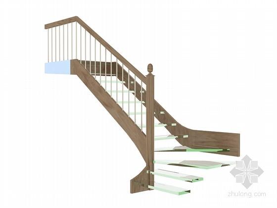 时尚楼梯3D模型下载
