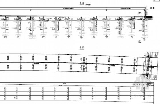 [湖北]后张预应力混凝土30米T梁桥施工图201张(知名大院)