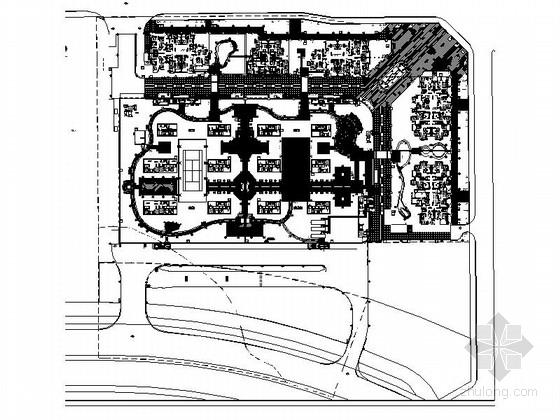 [成都]公交车站总站景观设计施工图