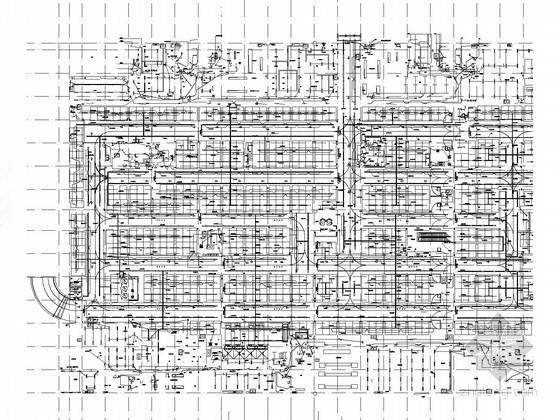 [北京]大型商住综合体强弱电系统施工图500张(知名设计院)