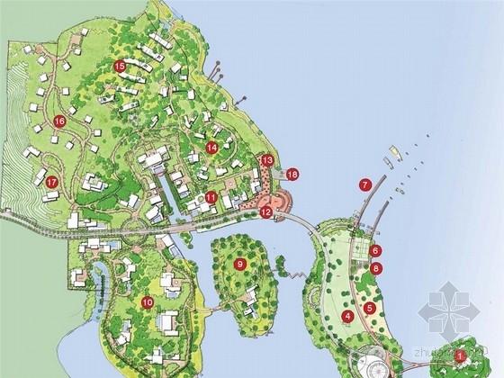 [杭州]滨水生态自然城市居住区规划概念设计方案