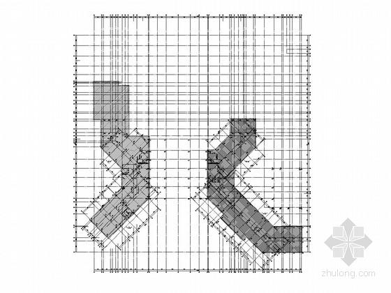 [吉林]度假区钢混框架酒店结构施工图(含钢结构施工图)