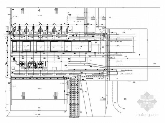 [湖南]航电枢纽工程厂房全套施工图