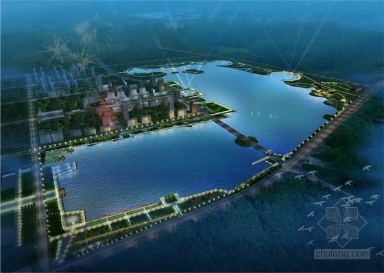 [湿地][福州]方案岛屿滨湖方案景观规划设计公园价格合理的景观设计图片