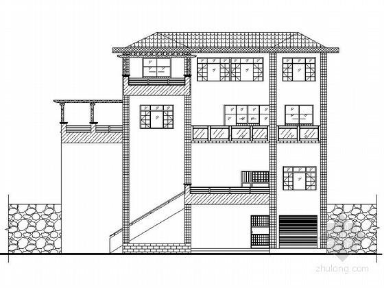[贵州]某三层独栋别墅建筑施工图