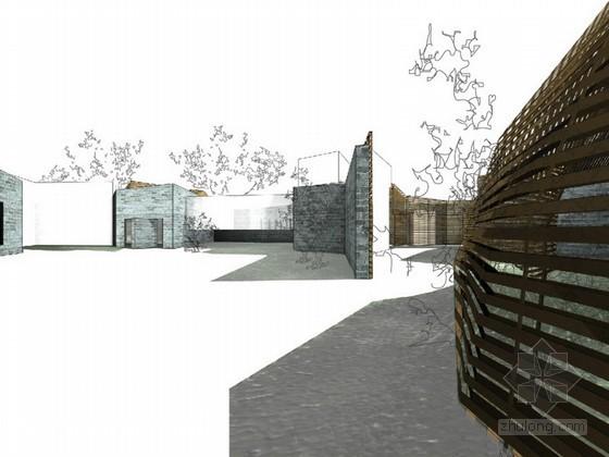 某特色居住区中式住宅建筑方案文本(MADA作品)