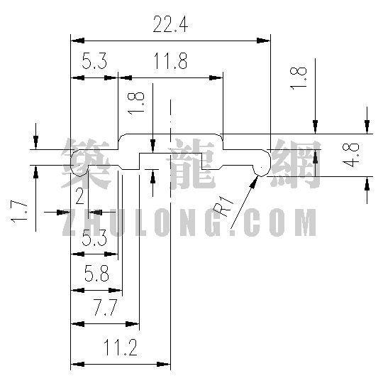 泰丰型材TFC-022