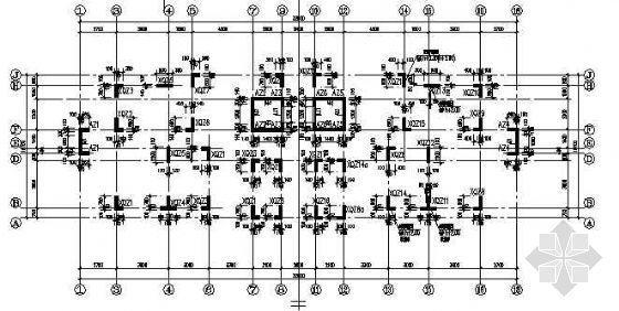 框剪结构小高层住宅全套结构施工图