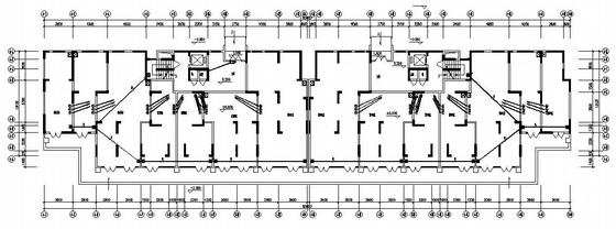 河南某九层住宅楼电气施工图-