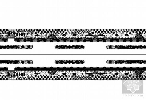 陕西某工业园景观大道施工图设计