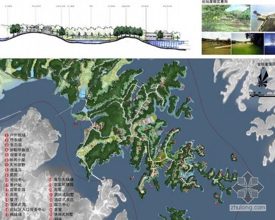 武汉某生态风景区规划设计