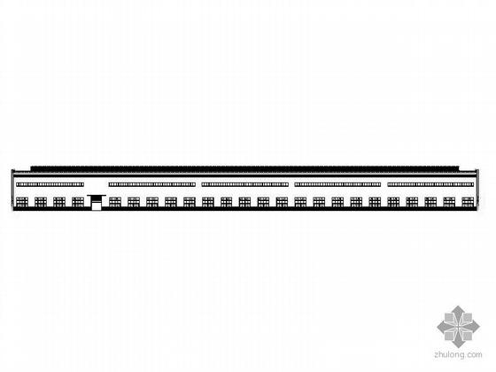 [四川]某水冷壁生产线厂房建筑施工图(门式钢架)