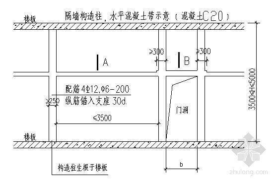 北京某住宅填充墙砌筑施工方案