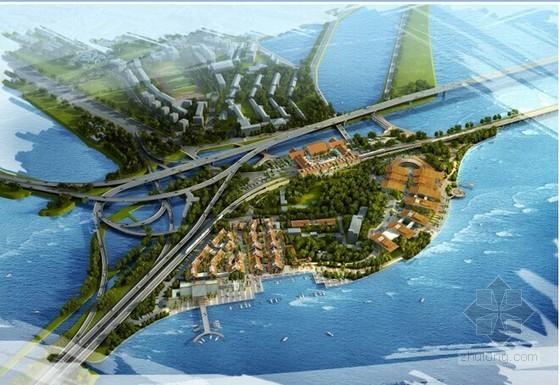 [福建]海堤段城市道路路面、互通提升改造工程方案设计90页附图纸(代工可)