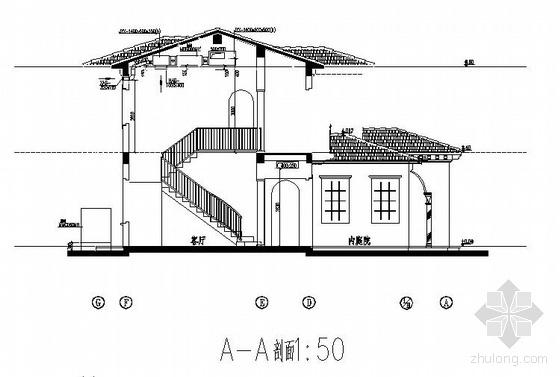 某400平米二层别墅中央空调施工图