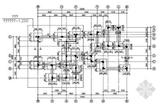 某三层别墅楼的设计图纸