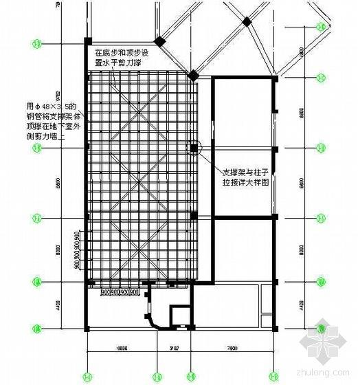 超重模板施工方案(木胶合板)