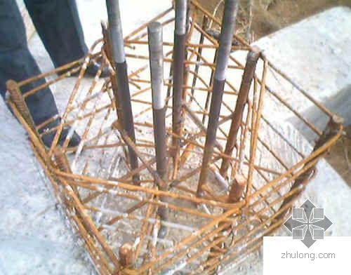 钢结构预埋螺栓定位方法