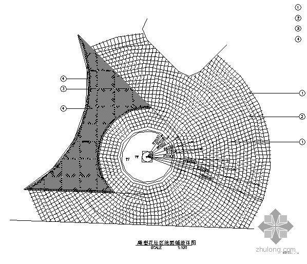 广场中三种铺装方式施工图集