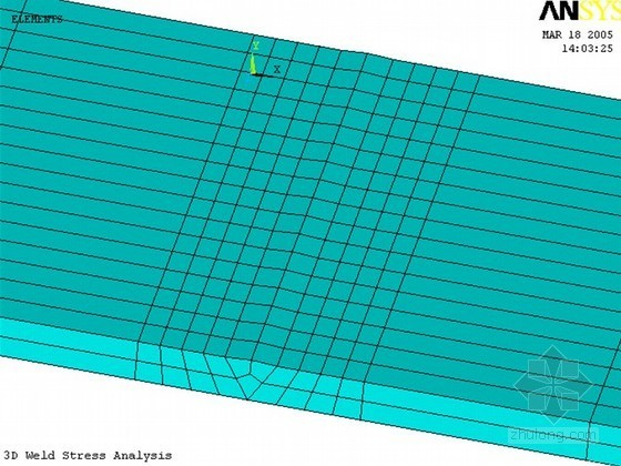 建筑工程钢结构焊接过程模拟与焊接变形、焊接Ansys应力有限元分析(详细图解分析)