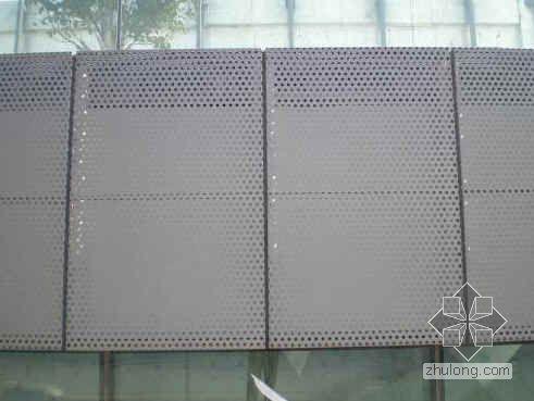 节能型异型金属冲孔板幕墙施工质量控制(QC)