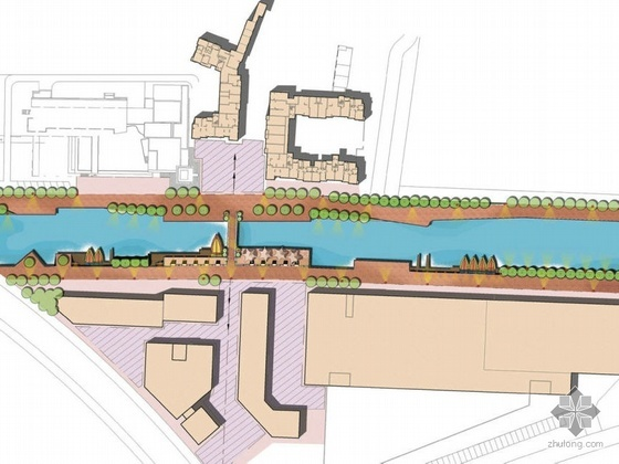 某河岸景观设计方案