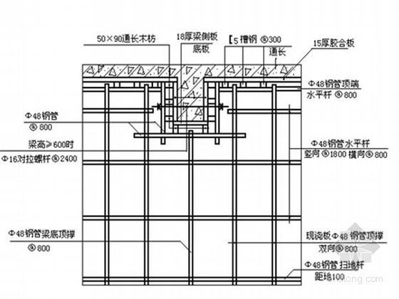 [扬州]钢筋混凝土剪力墙结构商住楼施工组织设计(附CAD图)