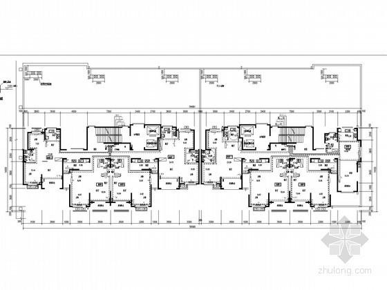 小区采暖系统施工图资料下载-[山东]高层住宅小区采暖通风系统设计施工图(节能设计)