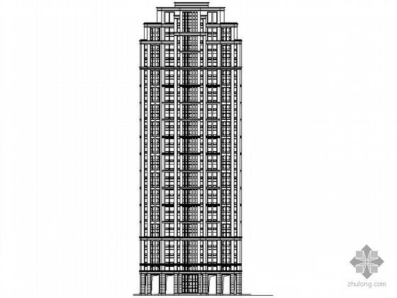 [宁波]某小区高层住宅组团扩初图