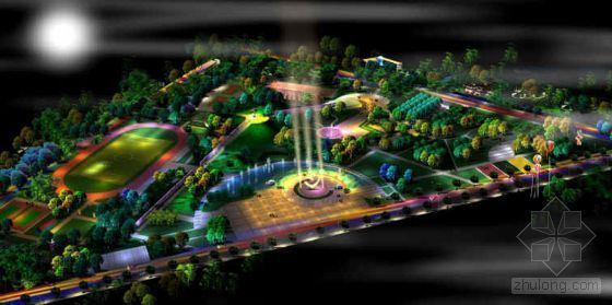 河北奥运主体公园景观设计方案-2
