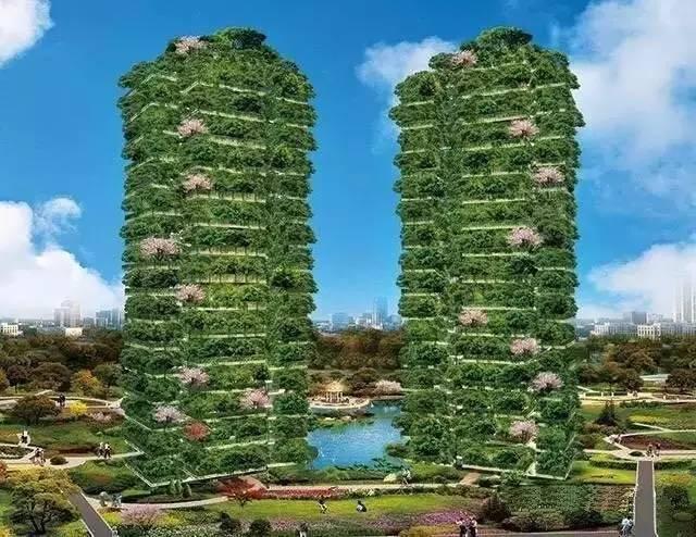 别墅建到60层,可以在家里种菜、遛狗,这个楼盘忒牛逼了!