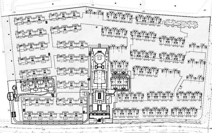 [上海]赵巷别墅区样板展示区景观扩初深化施工图