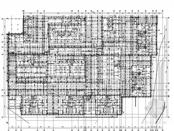 [深圳]22万平豪华住宅群给排水全套竣工图(雨水收集回用 干粉灭火)