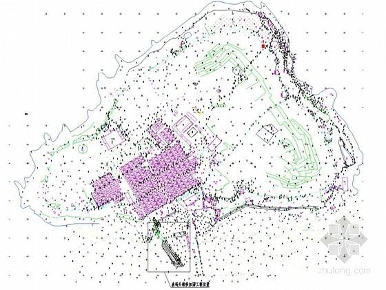 [山东]海岛整治修复及保护工程施工图(渔码头 岸线)