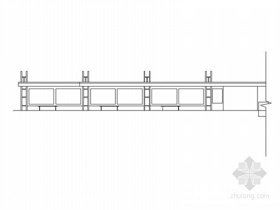 [广东]现代风格公交站及配套建筑施工图(含结构图 知名设计院)